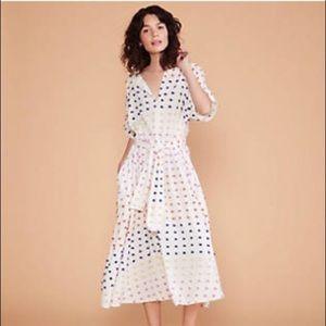 Lou & Grey Dot Candy Midi Dress